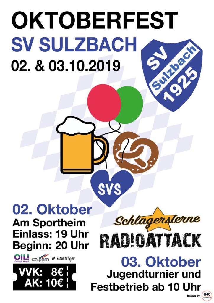 SVS Oktoberfest Plakat